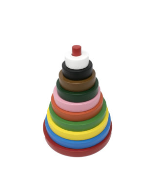 Rainbow Stacker Circle