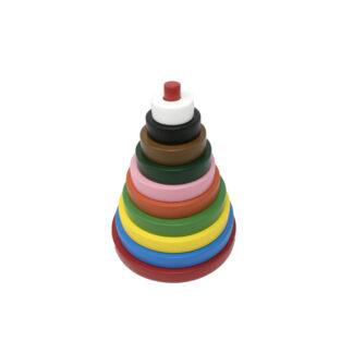 Rainbow Stacker Circle