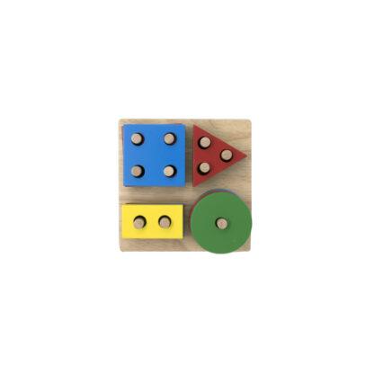 Geometric Board Stack and Sort