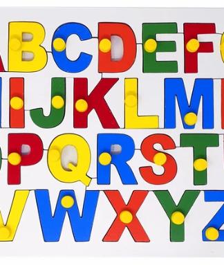 Alphabet Puzzle Uppercase