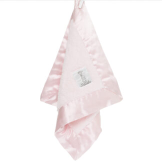 Chenille Blanky Pink