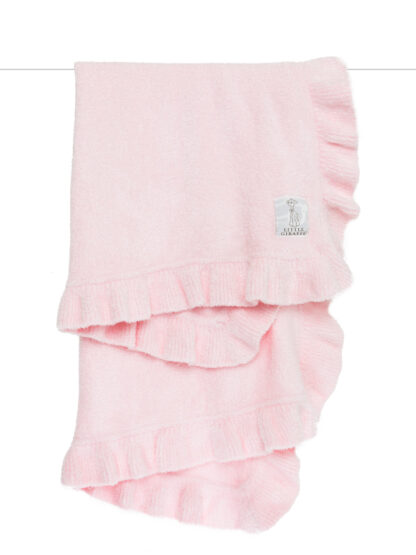 Dolce Ruffle Blanket Pink